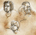Game of Thrones sketches by Klork