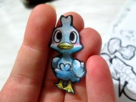 Paperchild 688.Pokemon#580 - Ducklett