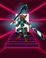 Tron Topher by Dragon-Furry