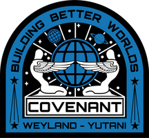 Alien Covenant Ship's Patch by viperaviator