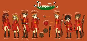 Gryffindor Team by star-melody