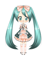 +Miku Lolita+ by Amai--Kiss