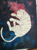 Space tiger by psychotoxicc