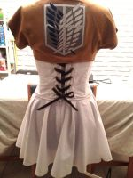 Attack on Titan! Inspired Dress by ladyvader31