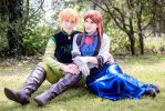 [Frozen] Anna and Hans 3 (Gender Bend version) by rinoafatali