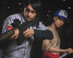 Javier and Clem  twdg s3 by OrihimeSchiffer
