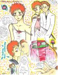 Aizen and His Strawberry Queen by MadzSan