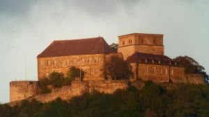 Die Giechburg (the giechburg, an old castle) by Ulliart