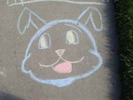 Chalk Drawings by MusicIsMyLifeForever