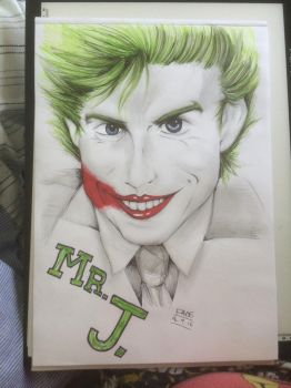 The Joker the Serious by fadeaway18