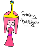 Princess Bubblegum by HamtaroJirachi