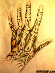 Hand Tattoo by lionessgirl2007