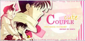 Cute Couple Ran and Shinichi by Ayato-msoms