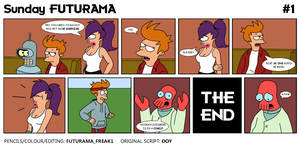 Sunday Futurama Comic 1 by FuturamaFreak1