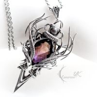 CRAAGHNAR - silver and ametrine. by LUNARIEEN