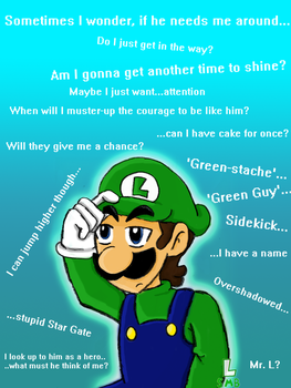 Luigi's Thoughts...? by SuperLuigiSMB