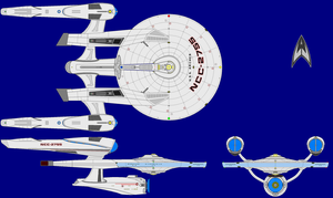 U.S.S. Archer AU Multi-view by kavinveldar