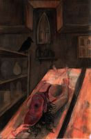 Meanwhile in the Basement by Blackbirdmotel
