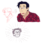 Style-change Markiplier by Hennei