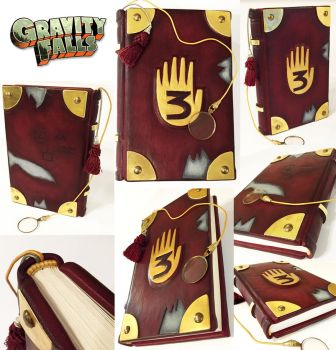 Gravity Falls Journal by BCcreativity