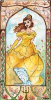Disney- Belle by Jenniej92