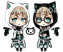 DMMD Twin inspired adopt auction- close by Caramel-Tea