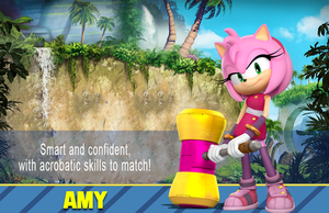 Sonic Boom Wallpaper(Amy V4) by Millerwireless