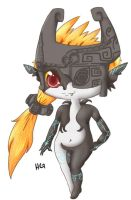 Midna Twilight Princess by gigithestar07