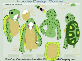 Turtle Hoodie - Contest Entry by HaileyForDawn