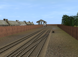 Knapford Exit Track by TheAusterityEngine