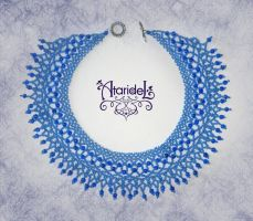 Necklace 'Lilac' by Ataridel