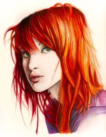 Hayley Williams by SabriHasankolli