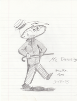 Early Drawings - Me Dancing by FilmmakerJ