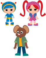 Casual Team Umizoomi by ChameleonCove