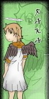 Haibane Renmei bookmark by bluepen731