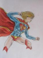 New 52 Supergirl by minihumanoid