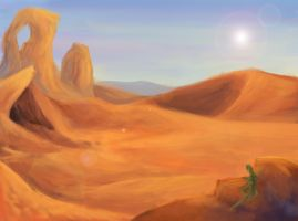 Silvaan | The Desert by INKFR0ST