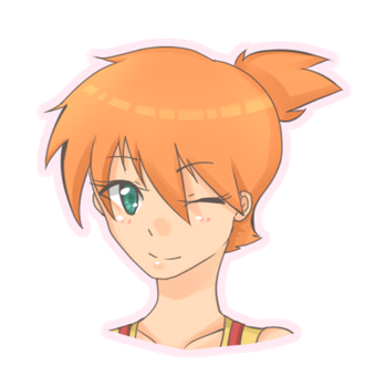 Misty doodle :. by chirimu