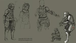 prototype soldier by azimuth-oakes