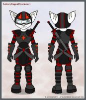 R n C Astro dragonfly armour by Astrocat