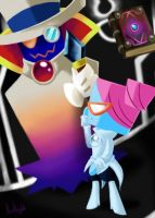 Nastasia and Count Bleck by KisaKnight