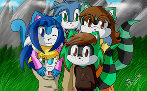 .: Family Picture :. by Raika-chan
