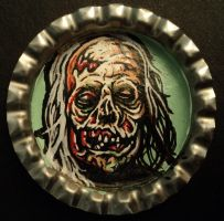 Zombie Bottle Cap Monster by Mr-Mordacious
