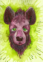 Voodoo Hyena by TrollcreaK