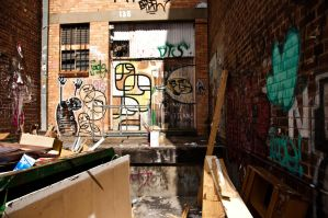 Back Alley no. 2 by DeMarco-Design