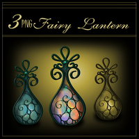 Fairy Lanterns 4 by MajcheZmajche