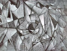 Sketch abstract by YugeshPandey