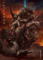 Cowboy from hell by henryz