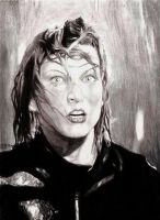 Milla Jovovich as Alice by insignificantartist