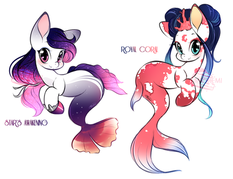 Merponies (closed) by Remi-Adopt